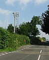 Mobile Phone Mast on Tintinhull Road - geograph.org.uk - 193396.jpg
