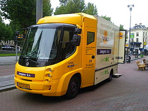 Modec - Modec van in Amsterdam