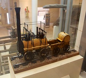 Monkland and Kirkintilloch Railway - Model of Locomotive no. 1
