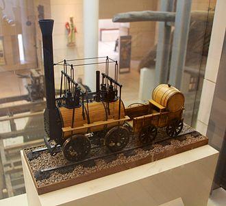 Monkland and Kirkintilloch Railway - Model of Locomotive no. 1