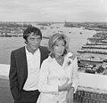 Modesty Blaise film van Amerikaan Joseph Losey. Filmopnamen te Amsterdam. Moni, Bestanddeelnr 917-9566.jpg