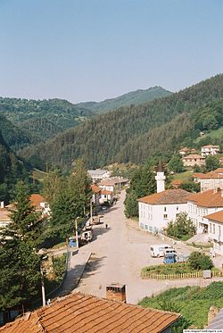 View towards Mogilitsa