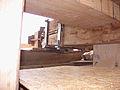 Molen Weseker standerdmolen Duitsland, bovenas insteekkop (1).jpg