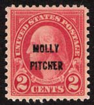 Molly Pitcher - 1928 Molly Pitcher stamp.