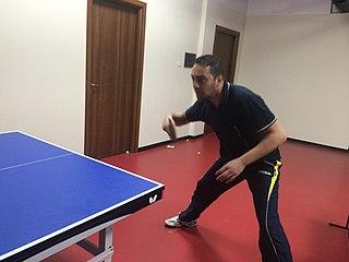 Massimiliano Mondello Italian table tennis player