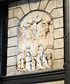 Mons St Waltrude Church alabaster Calvary 02.JPG