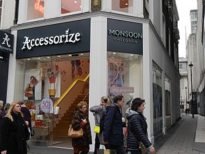Monsoon Accessorize - Monsoon Accessorize, Oxford Street, London, 2016