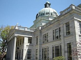 Montgomery County, Pennsylvania - Image: Montgomery County Courthouse Pennsylvania Douglas Muth