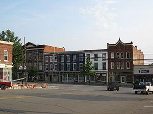Montrose Historic District (Montrose, Pennsylvania) - Image: Montrose Historic District Montrose PA Aug 09