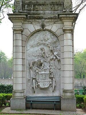 Paris–Bordeaux–Paris - Image: Monument à Levassor 1907