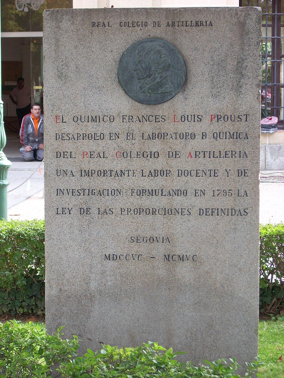 Ley De Las Proporciones Constantes Wikipedia La Enciclopedia Libre
