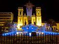 Monumento al Sol y Catedral San martín Sogamoso.jpg