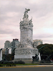 Monument To The Carta Magna And Four Regions Of Argentina