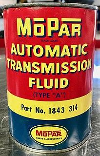 Mopar Automatic Transmission Fluid