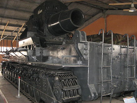 Karl-Gerat at the Kubinka Tank Museum, Russia. Mortars Karlgeret Adam.jpg