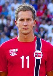 Morten Gamst Pedersen Norwegian footballer