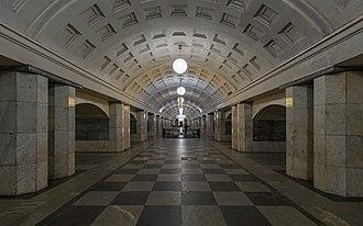 Okhotny Ryad (Moscow Metro) - Image: Mos Metro Okhotny Ryad img 1 asv 2018 01