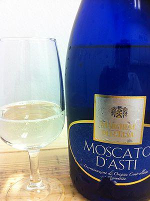 Province of Asti - A Moscato d'Asti.