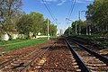 Moscow, Alekseevskaya railway line along Butyrsky Val Street (31177468321).jpg