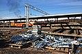 Moscow, construction of Belokamennaya MCC platform (31129049965).jpg