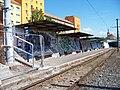 Most, tř. Budovatelů, tram zastávka Zimní stadion a děkanský kostel (01).jpg