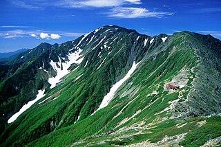 mountain in Yamanashi Prefecture, Japan