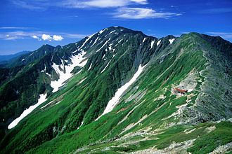 Shizuoka, Shizuoka - Mount Aino, one of the 100 Famous Japanese Mountains, and the fourth tallest peak in Japan