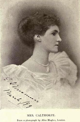 Somerset Gough-Calthorpe - Mrs. Effie Calthorpe née Dunsmuir