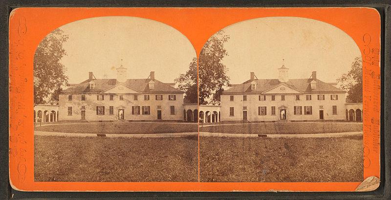File:Mt. Vernon mansion, west, or original front, by N. G. Johnson 2.jpg