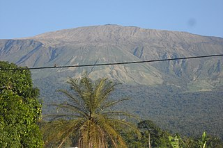 Mount Cameroon Active volcano in Cameroon near the Gulf of Guinea