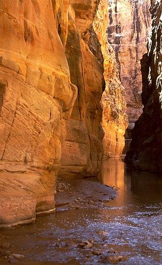 Muddy Creek (central Utah) - Image: Muddy Creek Chute UT