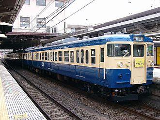 115 series - Image: Musashino 115 Hachioji 20040303