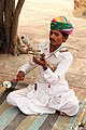 Musician at the Mehrangarh - Jodhpur (8029705574).jpg