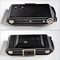 My Kodak Six-20 Model C folding camera, closed (4774873234).jpg
