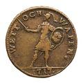 Nödmynt Wett och wapen, 1717 - Skoklosters slott - 109373.tif
