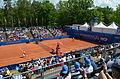 Nürnberger Versicherungscup 2014 - Centercourt des 1.FCN Tennis am Valznerweiher von Nord-Westen 05.JPG