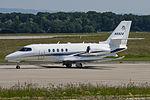 N682A Cessna 680A C680 (18231022444).jpg