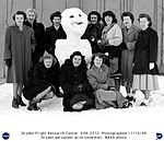 NACA Muroc Employees With a Snowman (7538102080).jpg
