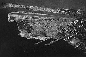 Fernando Luis Ribas Dominicci Airport - NAS San Juan, Puerto Rico, in the mid-1940s