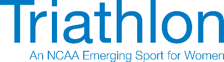 NCAA ESW Triathlon Logo