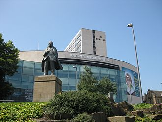 J. B. Priestley - Statue outside the National Media Museum