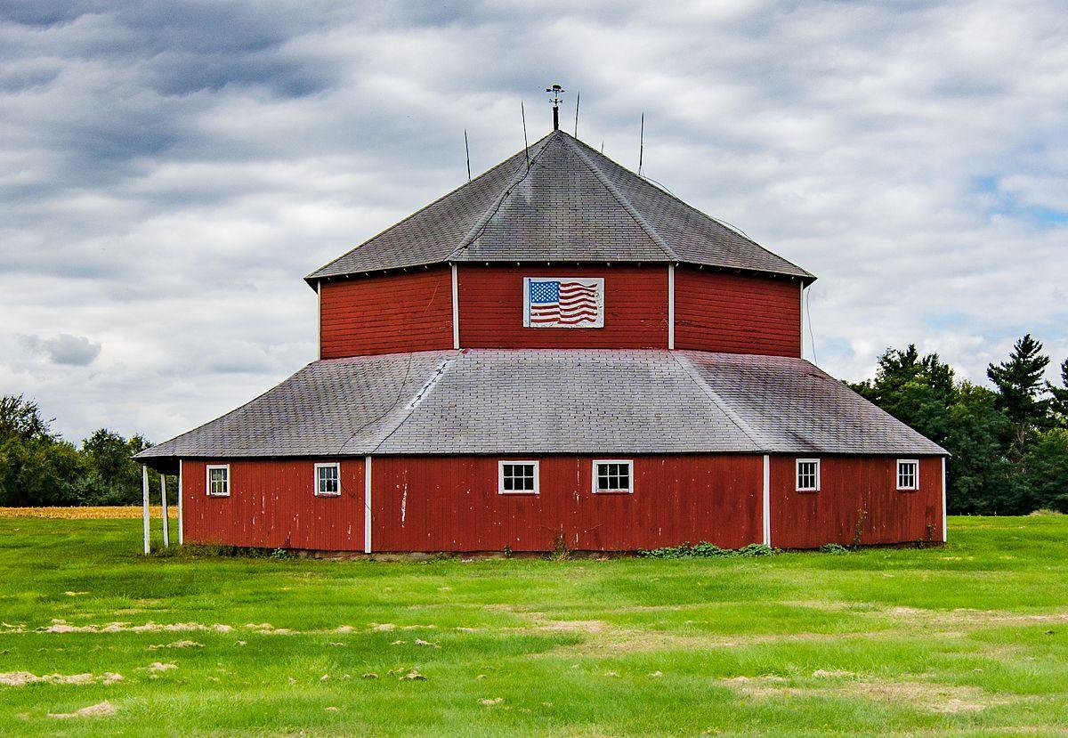 Octagon Barn Otter Township Wikipedia