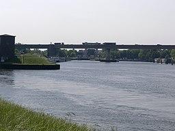 NRW, Duisburg - Schleuse Meiderich 02