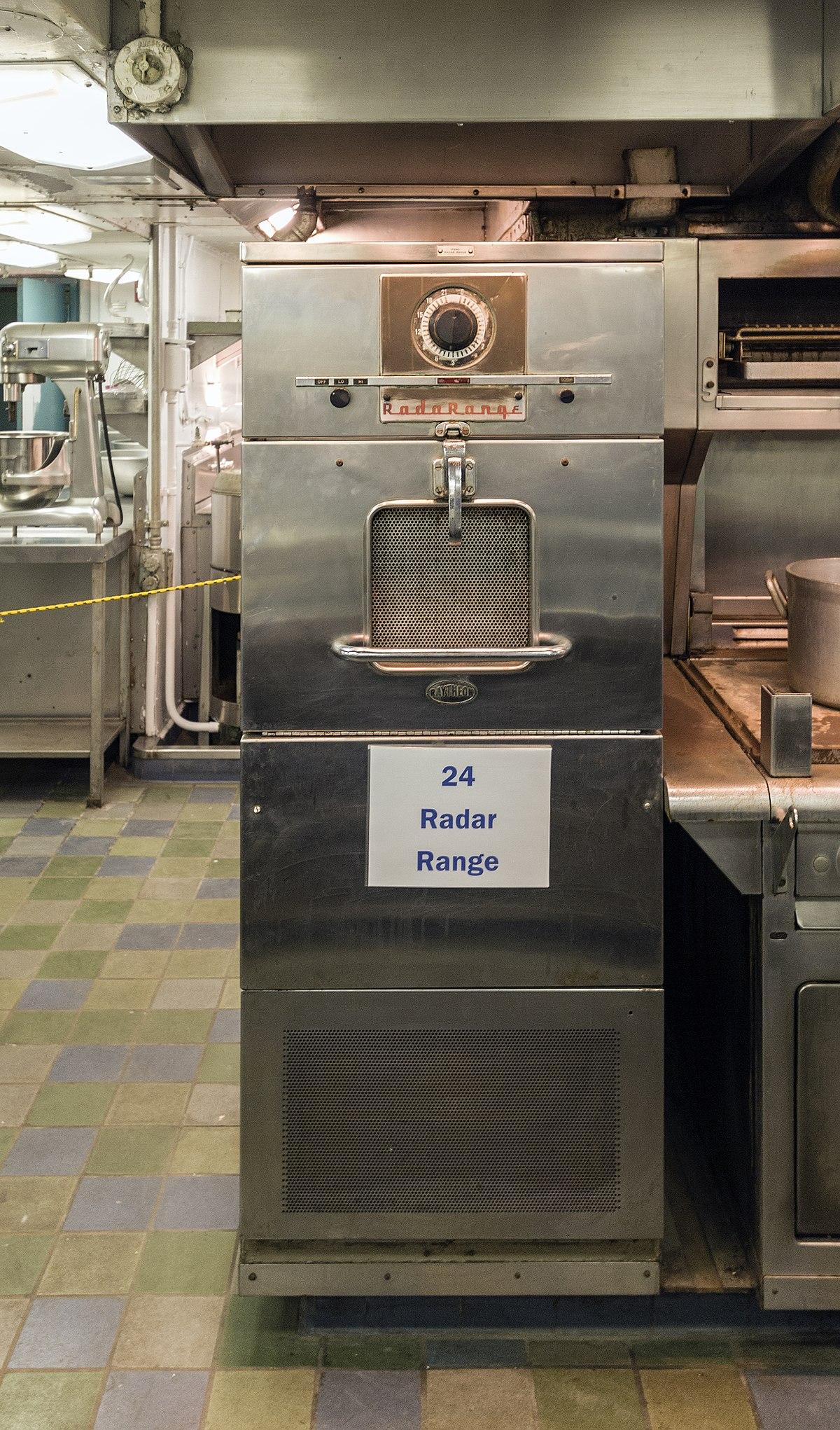 Microwave Oven 1946 ~ Radarange wikipedia wolna encyklopedia