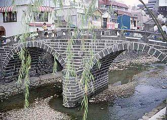 Arch bridge - Image: Nagasaki Meganebashi