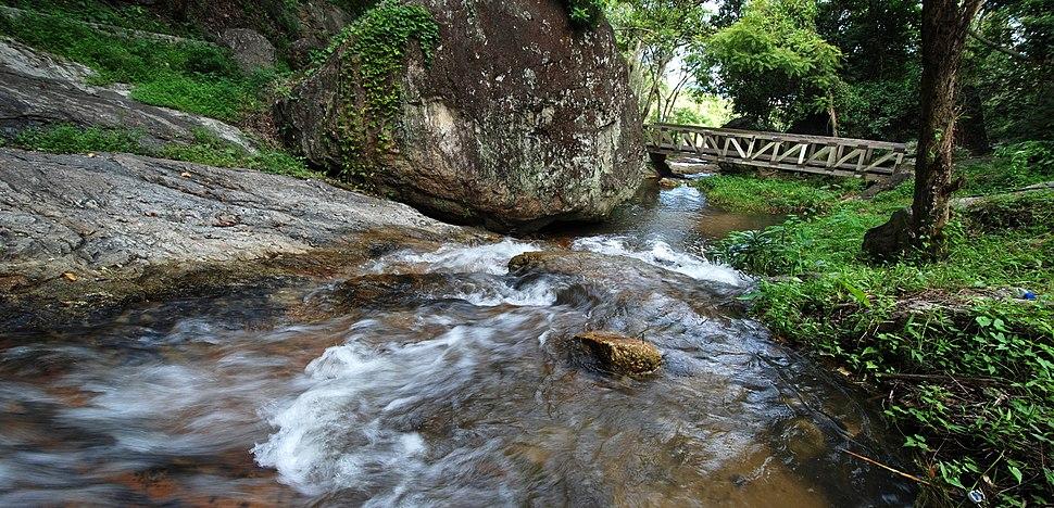 Nam tok huai kaeo 04 lower reaches rainy season