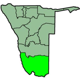 ǁKaras Region - Image: Namibia Regions Karas 250px