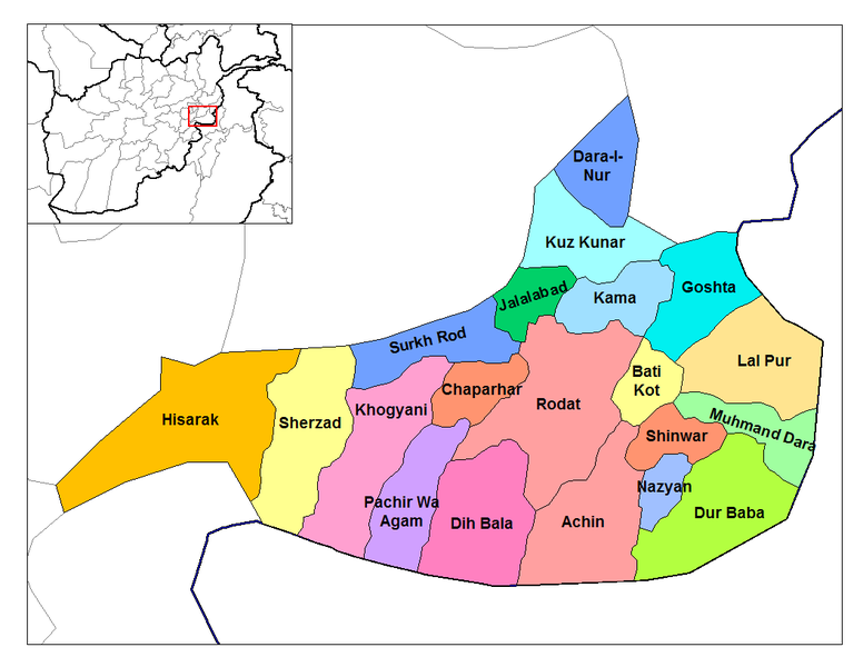پرونده:Nangarhar districts.png