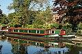 Narrowboat Reflections - geograph.org.uk - 1515202.jpg