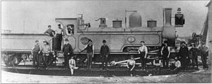 NGR 4-6-2TT Havelock - Havelock as a Mikado type, as built, circa 1888